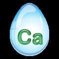 カルシウムを含む水アイコン