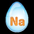 ナトリウムを含む水アイコン
