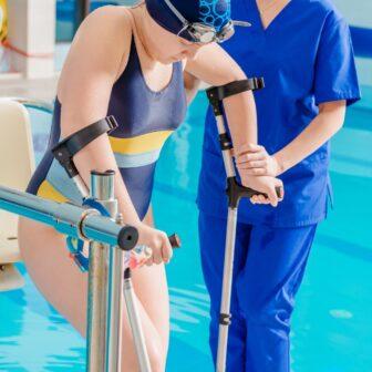 水治運動療法・温浴治療とは?水を活かした作業療法について